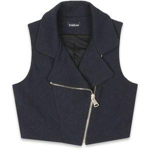 Bebe Cropped Vest